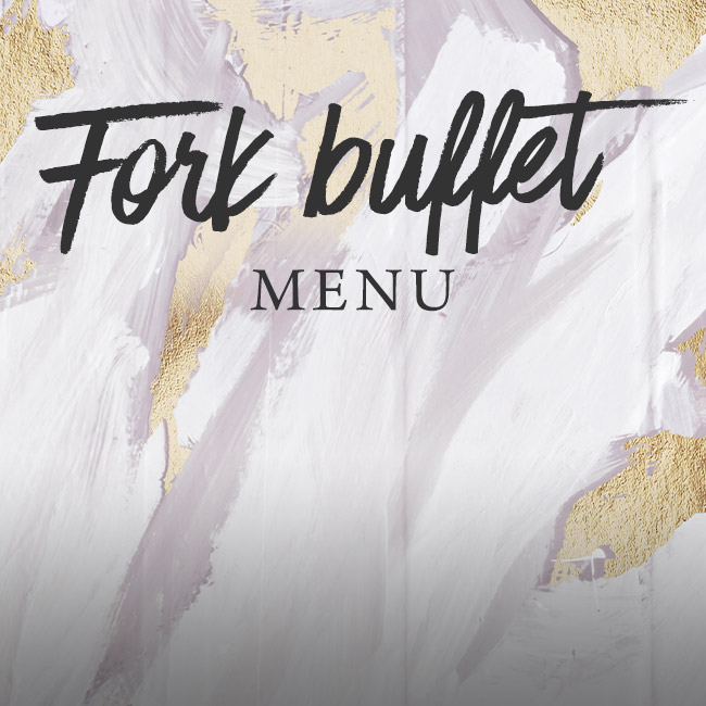 Fork buffet menu at The Wicked Lady