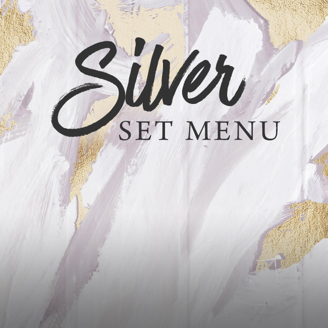 Silver set menu at The Wicked Lady