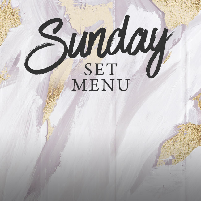 Sunday set menu at The Wicked Lady