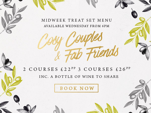 Midweek treat at The Wicked Lady - Book now